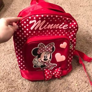 Miniature Minnie Mouse Backpack